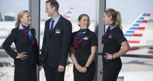 tripulantes de cabina American Airlines