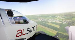 Simulador de Vuelo reconfigurable ALSIM AL40/42