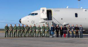tripulaciones P-8 de la RAF