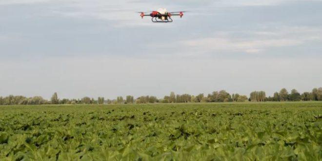 drones agrícolas de XAG