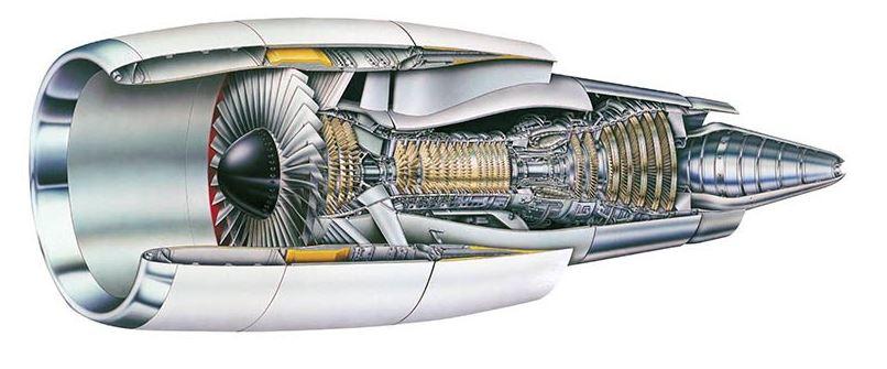 CF6-80C2.
