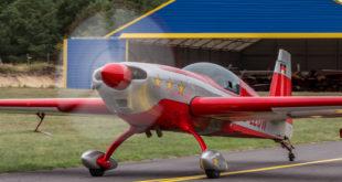 Avión de Juan Socias en el Campeonato.