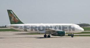 Airbus A319 de Frontier Airlines