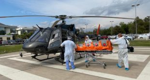 Rescate aero-médico