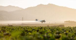 operaciones agrícolas aéreas autónomas