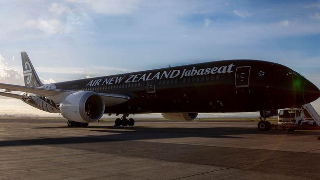 Air New Zealand  B-787 covid
