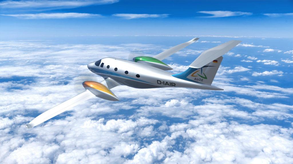 Air2E  eFlyer 800  Bye Aerospace