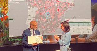 Instituto Nacional de Estadística (INE) ha recibido durante la Conferencia Esri España 2021