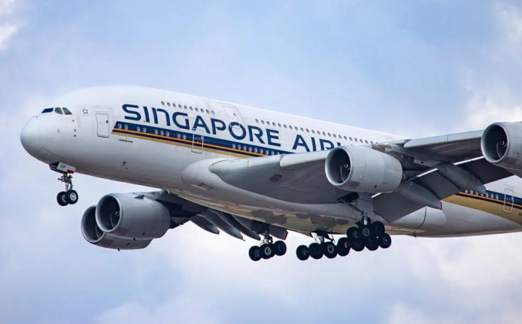 Singapore Airlines operará 12 Airbus A-380