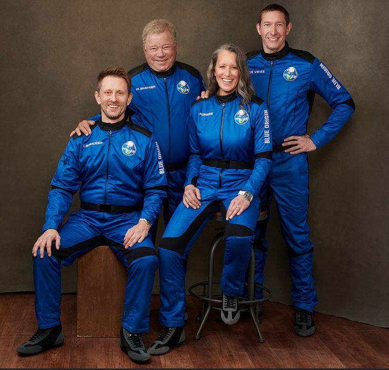 Blue Origin NS-18 el actor William Shatner, Capitán Kirk