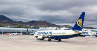 incidente aéreo vinculado al volcán de La Palma